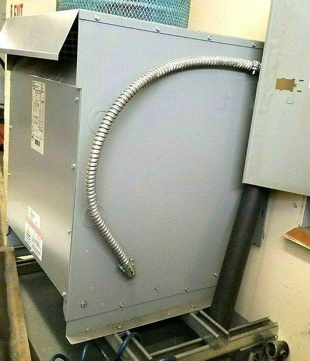 Used Ajax Transformer 76 KVA 460V Primary 230V Secondary 3 Phase