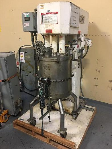 Used 30 GALLON MYERS TRIPLE SHAFT MIXER – 550A-5-5-1559 (#9674)