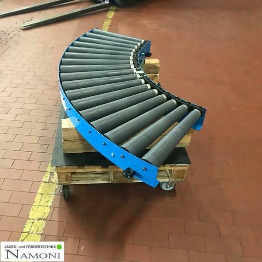 Gebraucht BLUME Rollenbahn Kurve/ Förderband Kurve 90 ° Blume