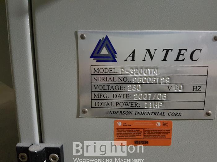 2007 Antec P-3200TM 10' sliding table saw