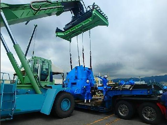 4.19 MW 2015 ABB AMG 0900SM10 LSE Alternator