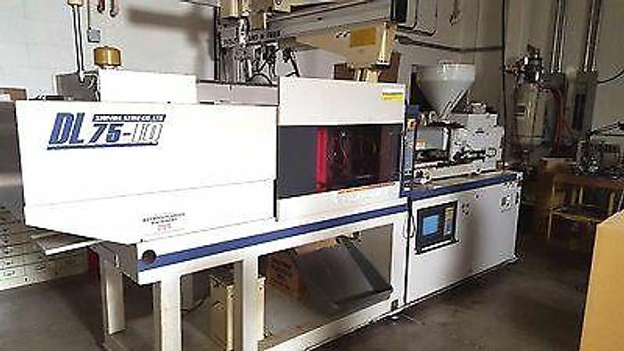 Used Shinwa DL75 1Q IB36 Plastic Injection Molding Machine Pristine! 2007 LEASE IT ..