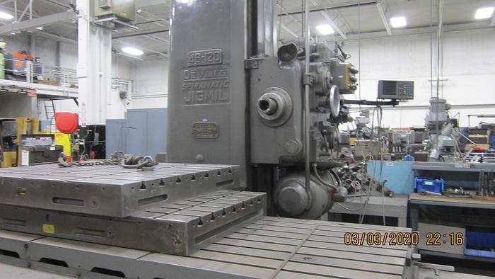1959 De Vlieg  Jig Mill 4B-120