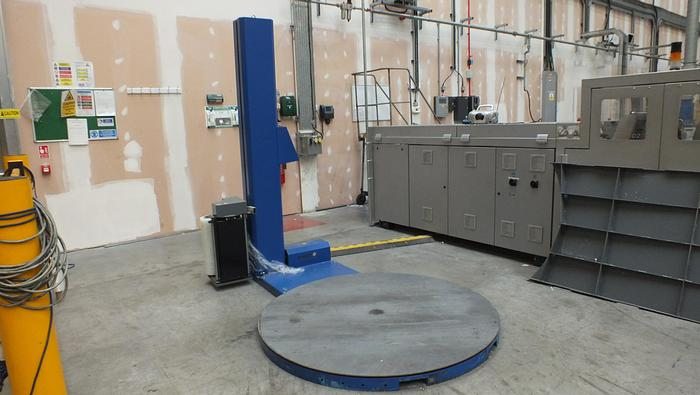 Used 2015 PIERI  EASY 117A/15 PALLET WRAPPER