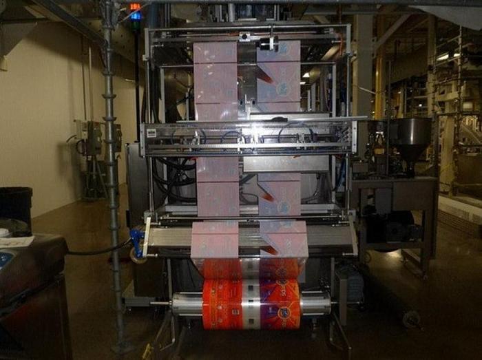 2011 UVA NEWTON TX400 HIGH SPEED POUCH MACHINE