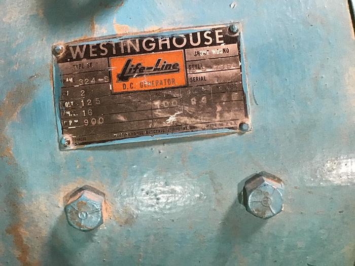 Hydroelectric 98 KW Westinghouse