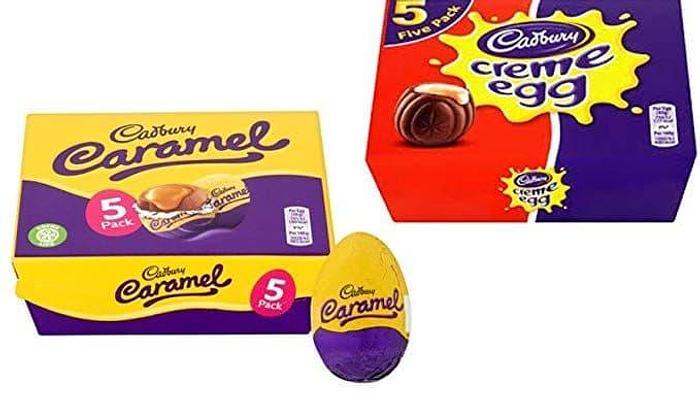 FREE Pack (5) Cadburys Creme Eggs Or Caramel Eggs