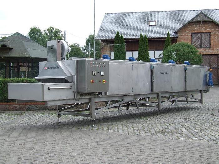 Tunel zamrażalniczy na ciekły azot LN2 – Rommenhöller, Niemcy