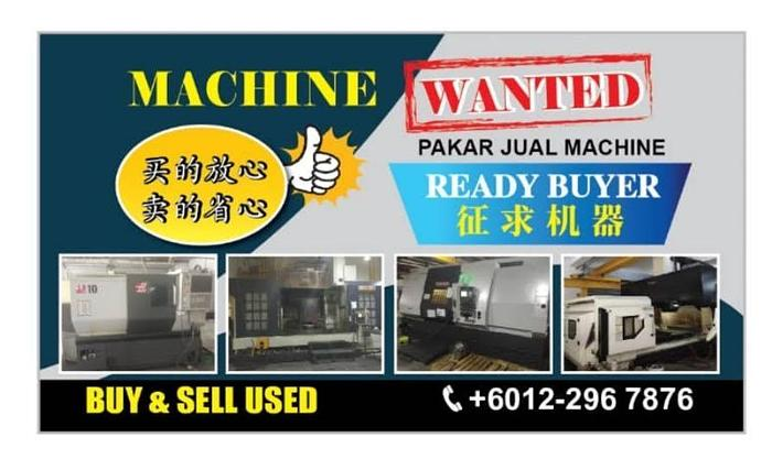 Used SMART CHOICE USED CNC MILLING LATHE MACHINE DEALER IN MALAYSIA