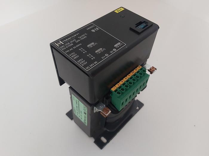 Gebraucht Trafo, Netzgerät, HA9503 T, 400/230 - 24VDC 9A, Habermann gebraucht