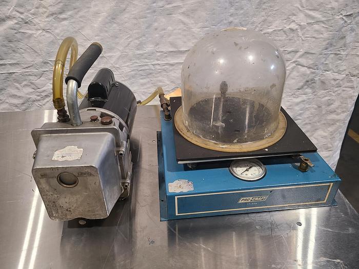 Used ProCraft Vacuum Bell Jar