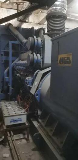 Used 1.76 MW 2004 Used Mitsubishi S16R-PTAA2-S Diesel Generator