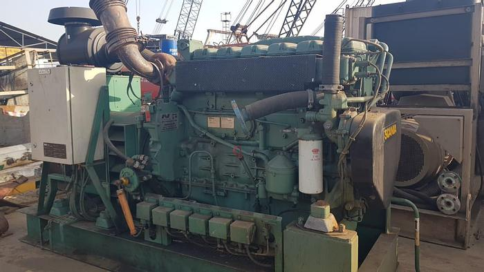 Used Scania Stamford marine generator excellent condition