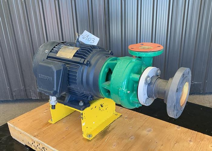 """Used USED CENTRIFUGAL PUMP, 3"""" X 2.5"""", CARBON STEEL"""