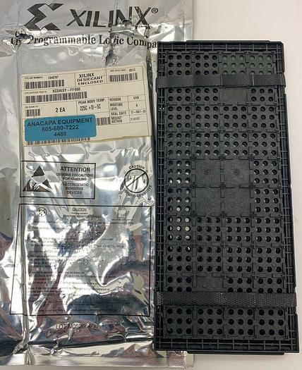 XILINX XCDaisy-FF668 Field Programmable Gate Array Lot of 2 (4480)