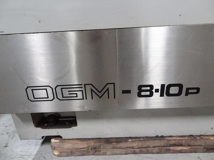1994 OKAMOTO OGM 8-10P PLAIN PROGRAMMABLE CYLINDRICAL GRINDER
