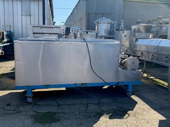 Used 500 Gallon Jacketed Cooling Tank with Agitation