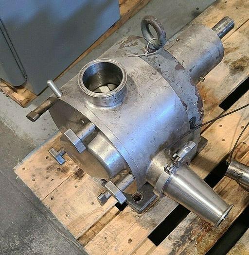 Used Rotary Lobe Pos Displacement Pump Stainless Steel Resin Liquid Pump