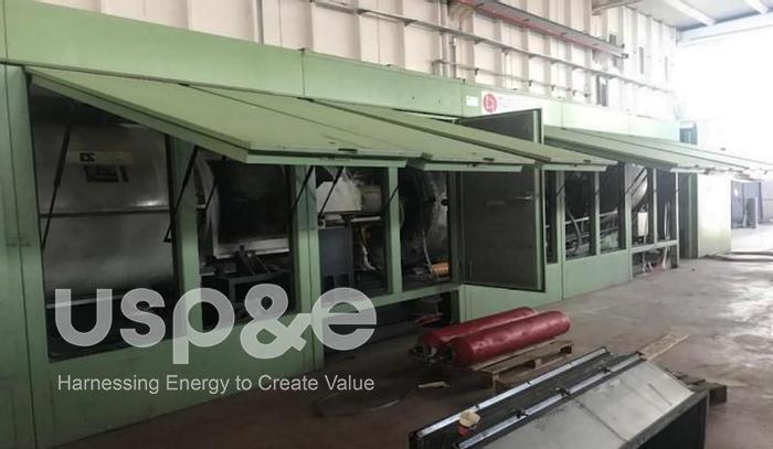 Used 10.6 MW 2006 Used Solar Mars 100 Natural Gas Turbine Sets