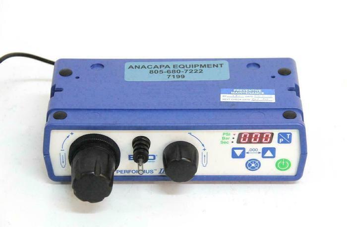 Used Nordson EFD 7012332 Performus III Fluid Dispenser w/ Power Supply USED (7199) R