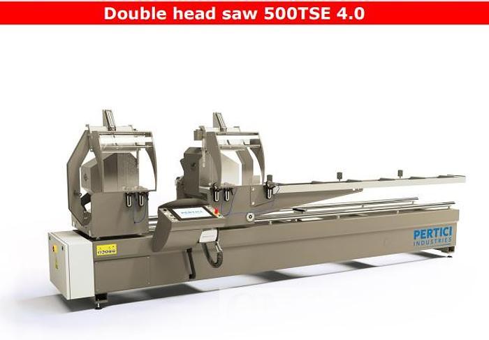 Used Pertici Double Head 500TSE 4.0 Saw