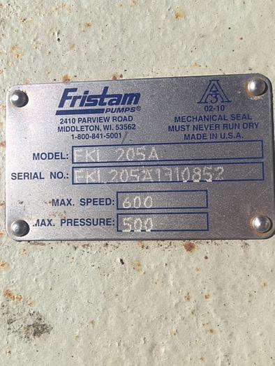 "Fristam 4"" Positive Displacement Pump FKL 205"