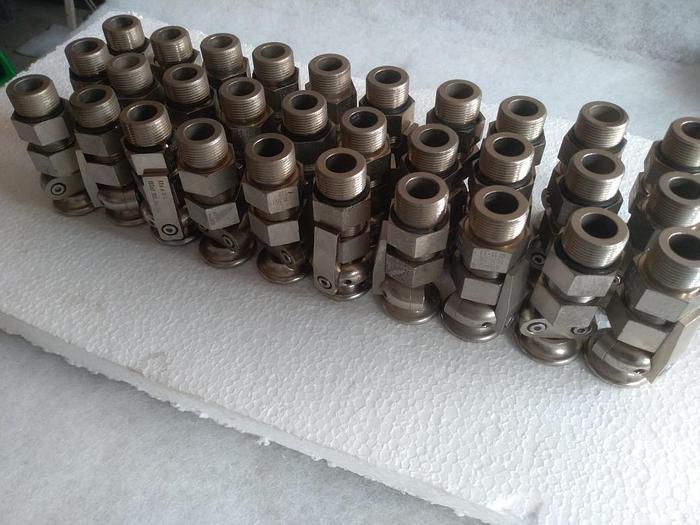 30 Stück MS Trompeten-Kabelverschraubung 1816.26, Agro,  ExdIIc, d11-13mm, neu -80%