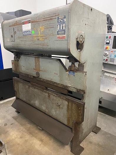 Used Niagara Model 1B-25-5-6 Mechanical Press Bake #5891