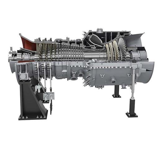 265 MW 2010 New Siemens SGT5-4000F Natural Gas Turbine Generator