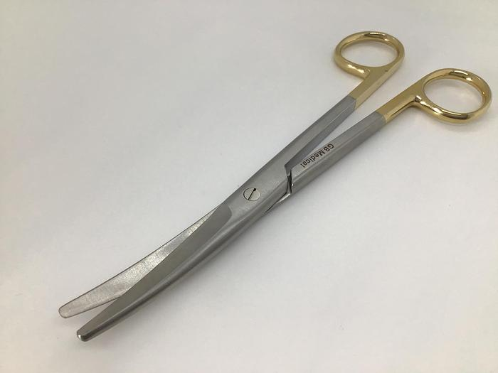 Scissor Surgical Dissecting Mayo Tungsten Carbide Curved 178mm (7in)