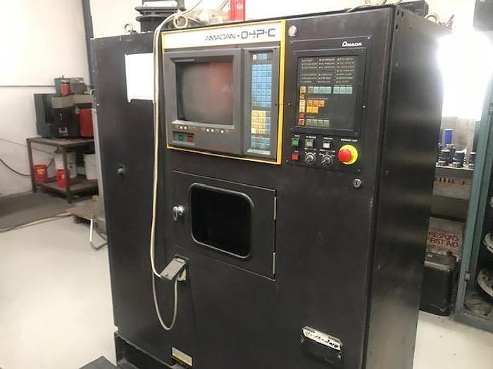 1989 33 Ton Amada Pega 345 Queen CNC Turret Punch