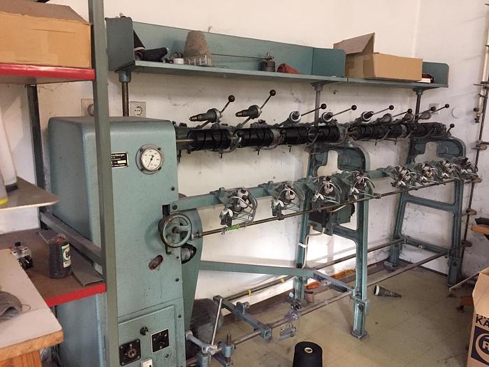 Gebraucht Kreuzspulmaschine HIRSCHBURGER CKS, 8 Spindeln