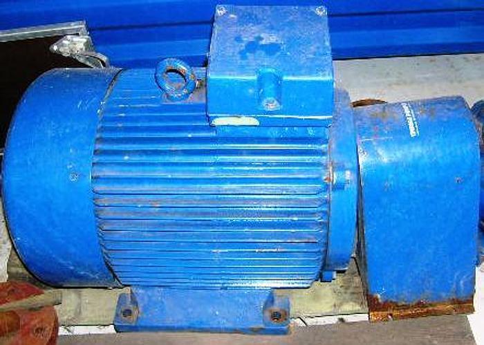 Used VEM motor, type KPER 280 S4, 75 kW. 1450 rpm, IP 55, 530 kg.