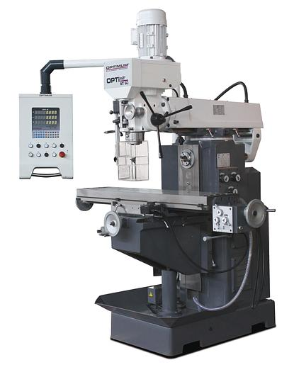 2020 Optimum OPTImill MT60   Universalfräsmaschine mit Digitalanzeige