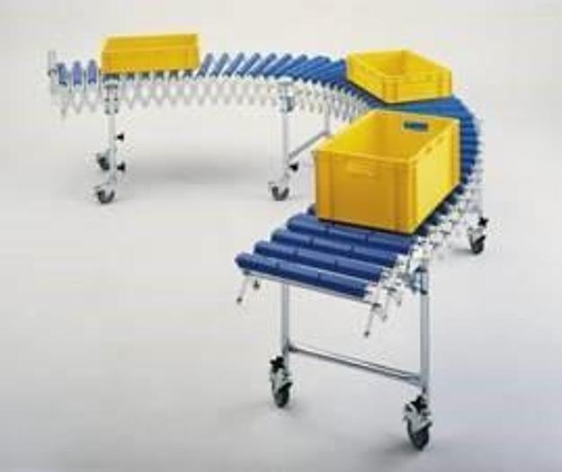 Usado Esteira de roletes flexível