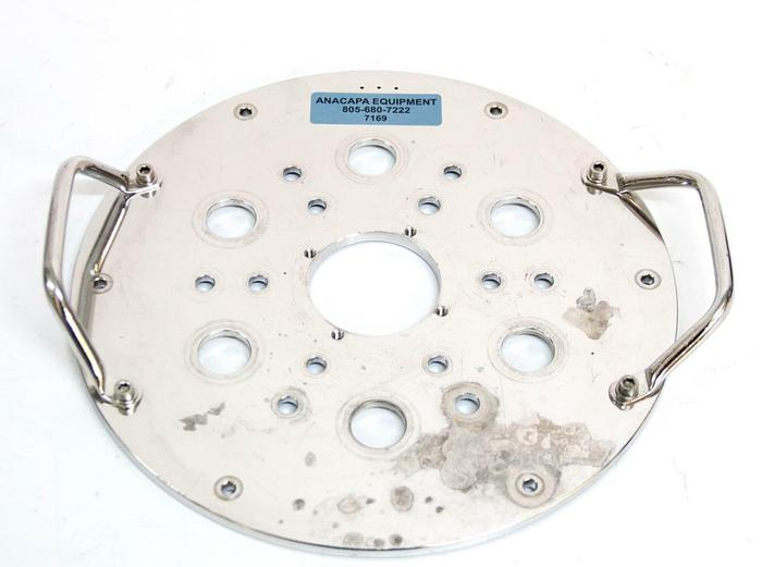 Used Broadley James Applikon B5-12103-8T9 15-20 Liter Bioreactor Headplate (7169) R