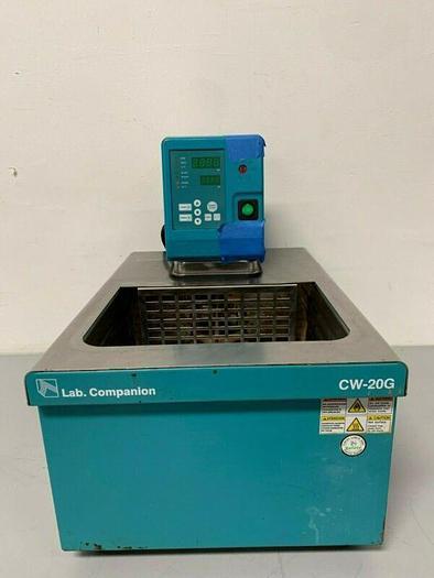 Used JEIO Tech Lab Companion CW-20G Circulator Water Bath 120V