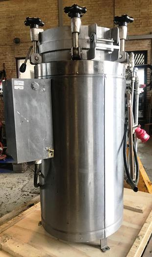 Used Laboratory autoclave, type LEQUEUX