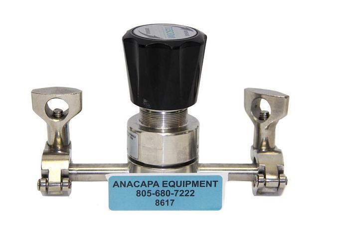 Used Tescom 44-2360-98-551 Back Pressure Regulator (8617)W