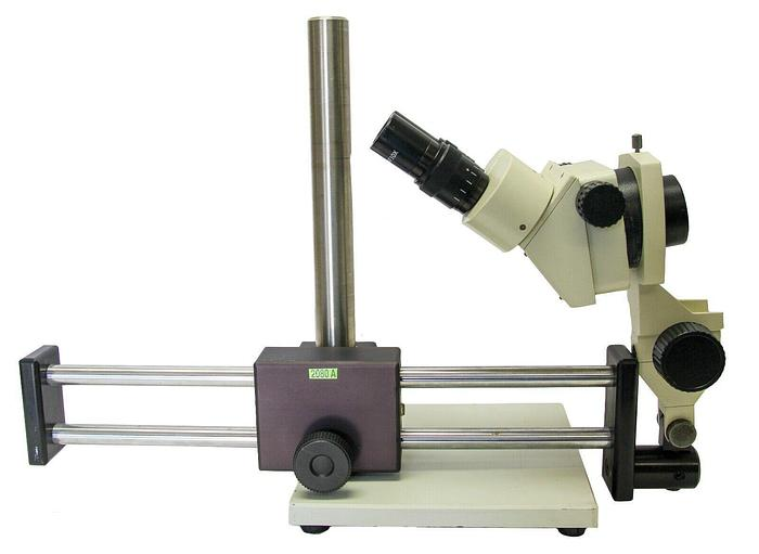 Used VanGuard Stereozoom Microscope WF10X with Double Boom Arm Stand (2080A)