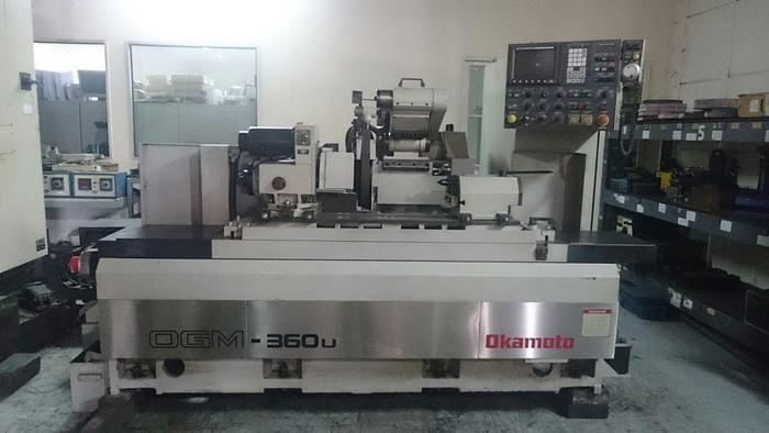 Used Used Okamoto OGM-360U CNC Cylindrical Grinding Machine