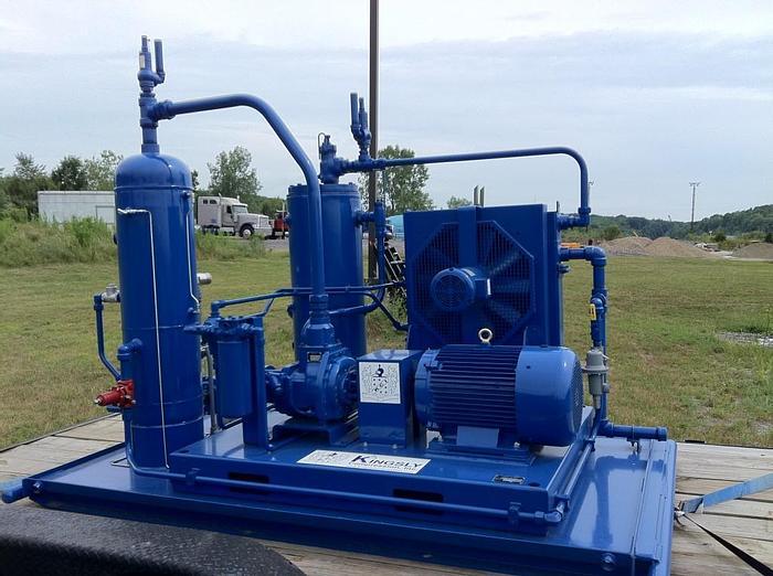 Vapor Recovery Gas Compressor