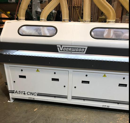 Used Voorwood A1517 Arch Shaper Sander