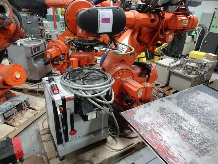 Used ABB IRB 7600 6 AXIS CNC ROBOT 340KG X 2.8 REACH IRC5 CONTROL