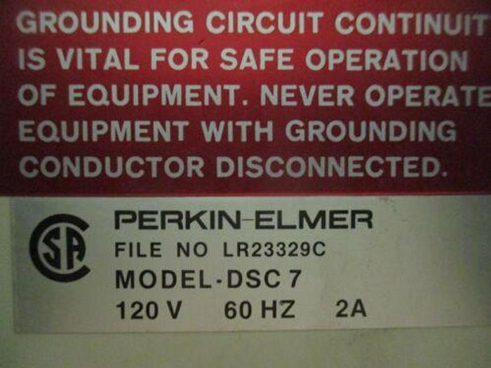 PERKIN ELMER DSC-7