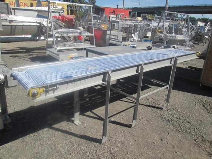 "Used Custom Conveyor; 20""x12"