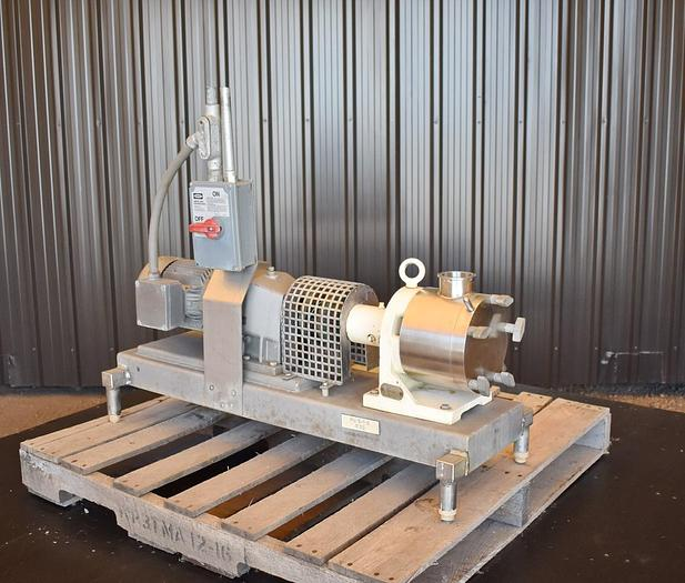 USED SINE MR125 POSITIVE DISPLACEMENT PUMP, STAINLESS STEEL