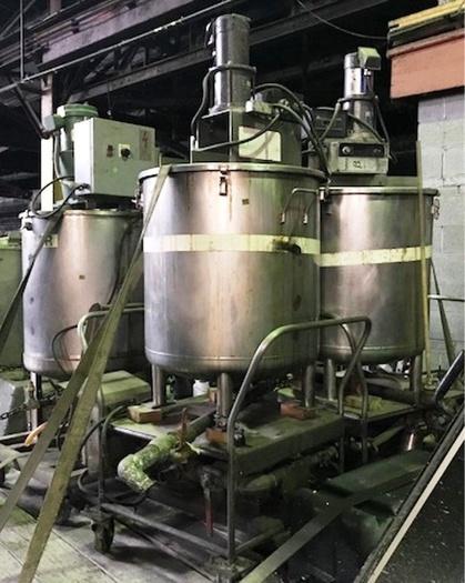 Biodiesel equipment, tanks, pumps, centrifuge,
