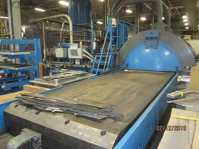 Verson Wheelon Fluid Cell Press 50 x 116