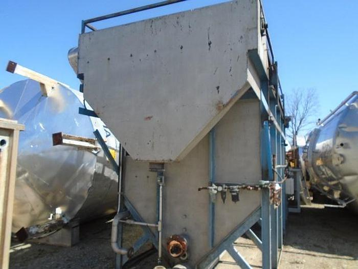 USED CLARIFIER / DAF SYSTEM, STAINLESS STEEL, 100 SQ. FT.